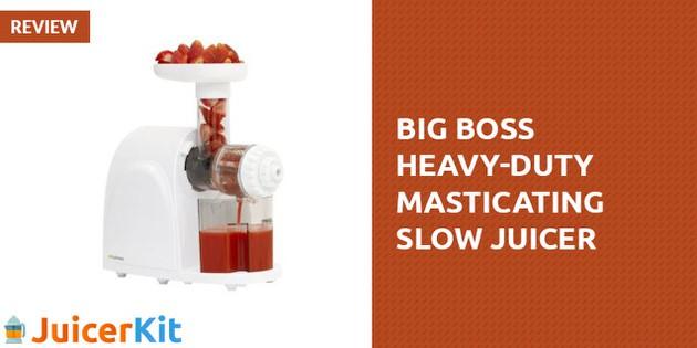 Big Boss Heavy Duty Masticating Slow Juicer