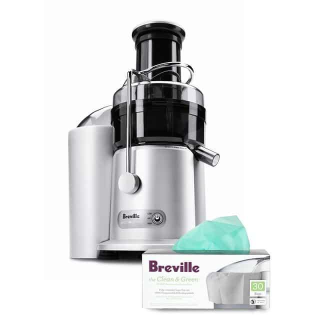Breville Heavy-Grade Juice Fountain Plus