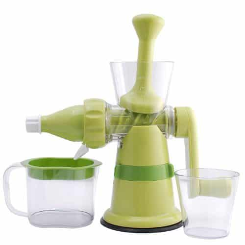 Chef's Star Manual Hand Crank Auger Juicer