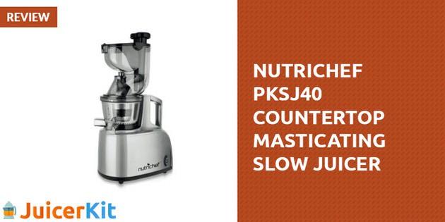 nutrichef slow juicer