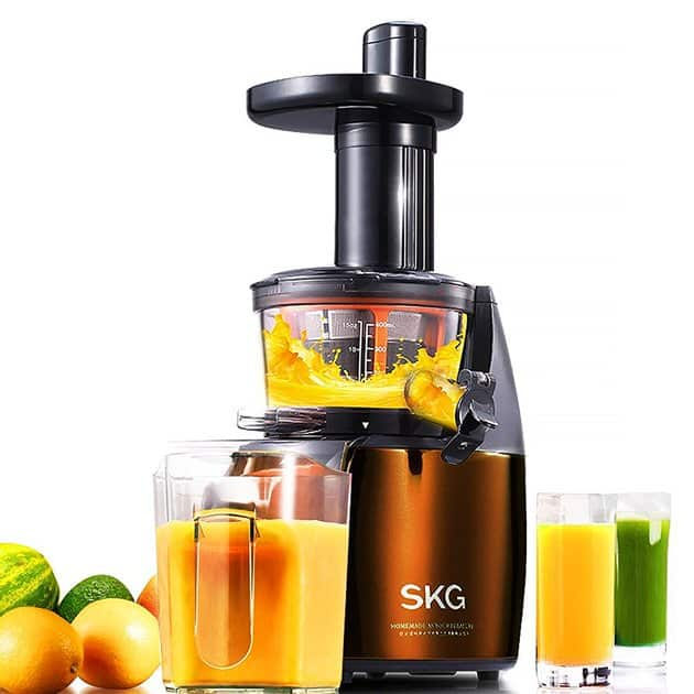 SKG Premium 2-in-1 Anti-Oxidation Slow Masticating Juicer