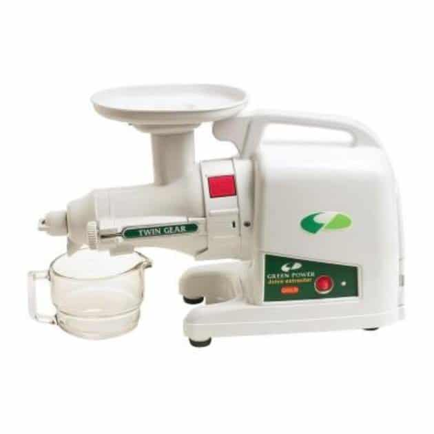 Tribest Green Star GP-E1503 Green Power Gold Juicer