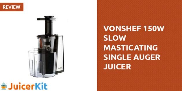 VonShef Slow Juicer