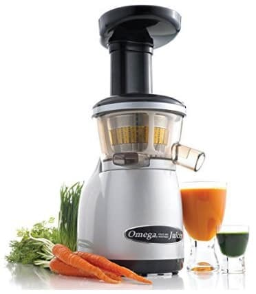 Omega Juicers VRT350X Heavy Duty Dual-Stage Vertical Single Auger Low Speed Juicer