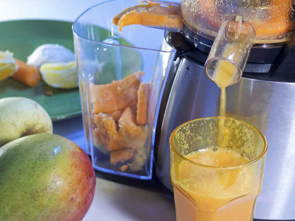 pulp from juicer