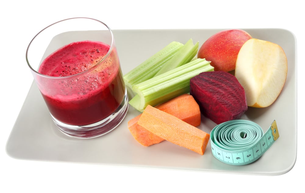 juicing fruit and vegetables