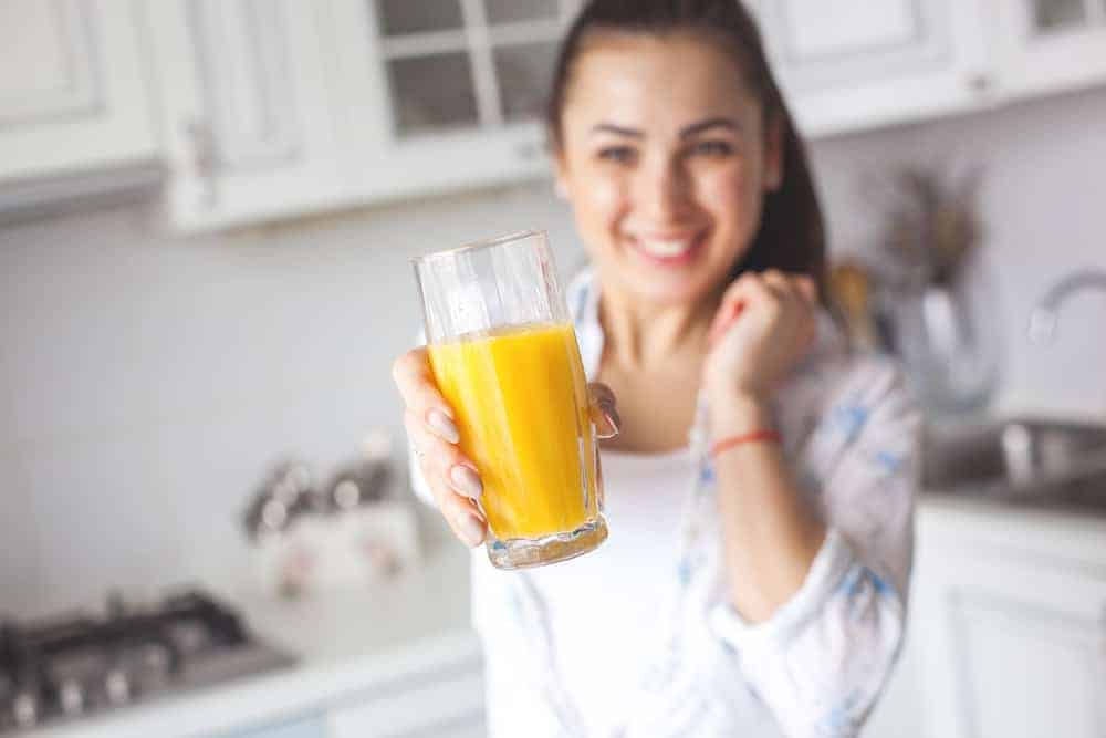best time to drink juice